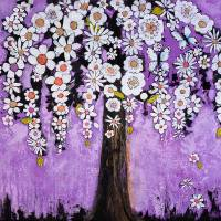 Butterflies Tree Art Prints & Posters by Blenda Tyvoll