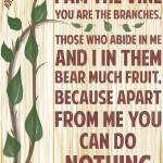"""I Am The Vine John 15:5"" by TruthJC"