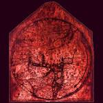 """Hereford Mappa Mundi Red Tint Medium Violet Border"" by TheNorthernTerritory"