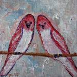 """Love birds"" by Desray"