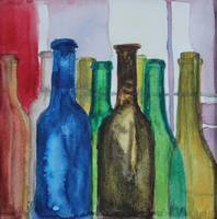 From Vine to Wine - Wine Bottles II
