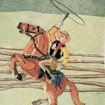 """Cowboy Windup Toy"" by Glenda"