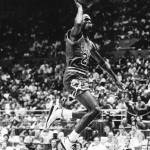 """Michael Jordan gliding"" by RetroImagesArchive"