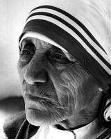 Mother Teresa close up
