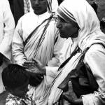 """Mother Teresa with young boy"" by RetroImagesArchive"