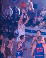 Pete Maravich releasing shot