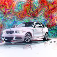 BMW 135i Art Prints & Posters by John Thompson
