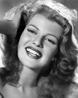 Rita Hayworth hand in hair