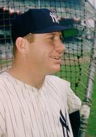 Mickey Mantle Smile