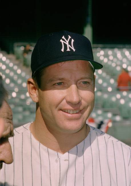 mickey mantle famous smile by retroimagesarchive