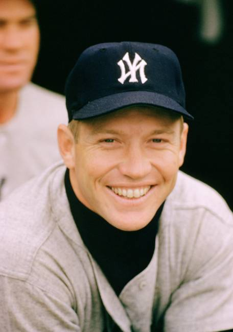 young mickey mantle smile by retroimagesarchive