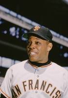 Willie Mays Smiles