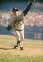 Sandy Koufax Pitching