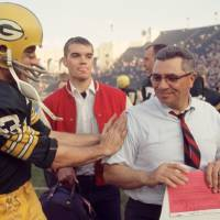 """Vince Lombardi Congratulated"" by Retro Images Archive"
