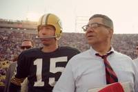 Vince Lombardi with Bart Starr