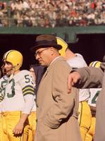 Vince Lombardi in Trench Coat