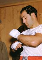 Rocky Marciano Getting Ready