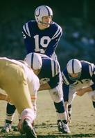 Johnny Unitas under center