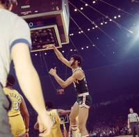 Kareem Abdul Jabbar follow through
