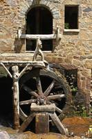 The Old Mill Wheel and Entrance