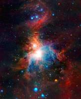 VISTA Telescope's Infrared View Orion Nebula Enhan