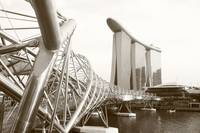 Marina Bay Sands Singapore, Monochrome