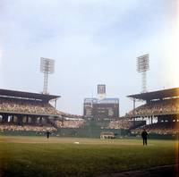 Comiskey Park photo from the outfield