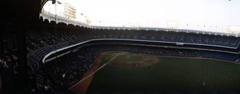 Beatiful right field view of Old Yankee Stadium