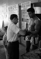 Muhammad Ali with trainer