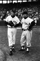 Mickey Mantle with Ted Williams