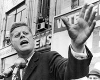 John F. Kennedy illustrates passionate speech