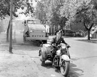 Motorcycle Police Vintage clean up