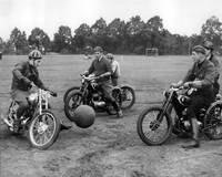 Retro Motorcycle Soccer
