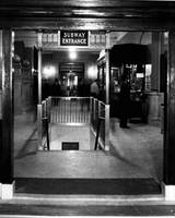 Vintage Subway entrance
