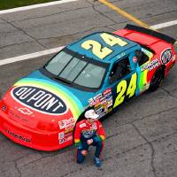 """Jeff Gordon"" by Retro Images Archive"
