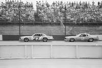 Benny Parsons and Dale Earnhardt