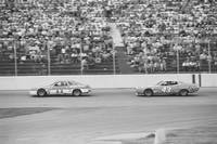 Cale Yarborough and Richard Petty