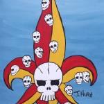 """""""Fleur D Skull 1"""" by splinterhed"""