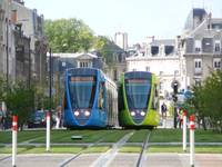 Electric Trains, Blue and Green