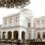 """Original monochrome , National Musuem Singapore"" by sghomedeco"