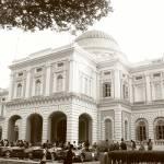 """""""Original monochrome , National Musuem Singapore"""" by sghomedeco"""