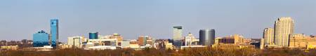 Grand Rapids Skyline Panorama