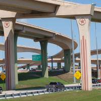 The Dallas High 5 Interchange Art Prints & Posters by Glendine Prints