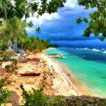 """Sandy beach in Bohol Philippines"" by who"