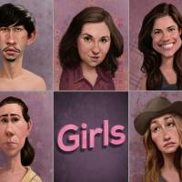 Girls (HBO) Art Prints & Posters by Blake Loosli