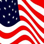 """American Flag Flying Cropped"" by TheNorthernTerritory"