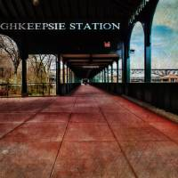 Poughkeepsie Station Pavilion Art Prints & Posters by Pamela Phelps