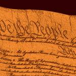 """US Constitution Closeup Sculpture Brown Background"" by TheNorthernTerritory"