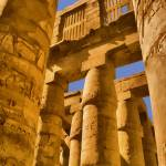 """Karnak temple building in Egypt"" by who"