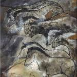 """Horses Lascaux Cave SE France II"" by TheNorthernTerritory"